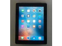 Apple iPad 2 64gb WIFI & 3G Unlocked - £180 - Black - With Receipt
