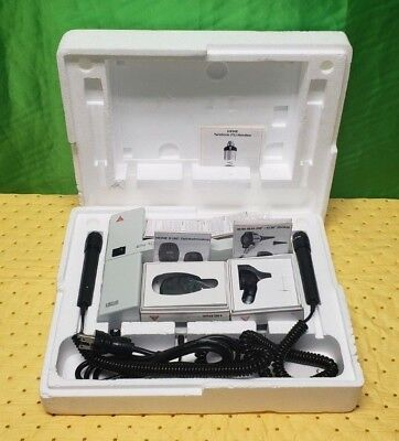 Heine En100 Otoscopek180 Opthamoscope Set Wall Unit Ent Diagnostic Set