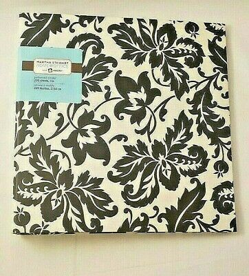 Martha Stewart Home Office With Avery 1 Patterned Binder - Holds 220 Sheets
