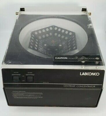 Labconco 78100-00 Centrivap Concentrator Evaporator Centrifuge