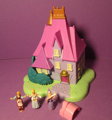 Polly Pocket Mini Disney ♥ Cinderella ♥ Stiefmutter Haus ♥ 100% Komplett ♥1995