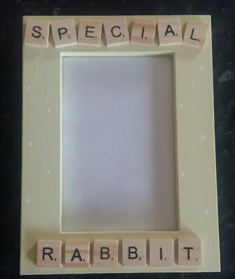 Bespoke Personalised special rabbit photo Frame 6