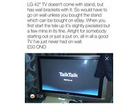 "LG TV 42"""