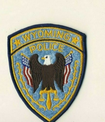 """Wyoming WY Police 5"""" Shoulder Patch"""