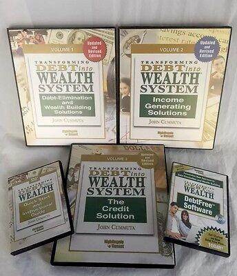 Financial Kit John Cummuta Transforming Debt Into Wealth Updated Volume Set