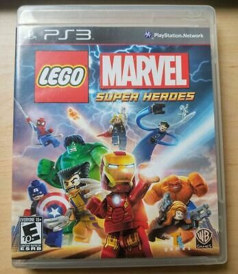 LEGO Marvel Super Heroes (Sony PlayStation 3, 2013) Complete PS3 Game