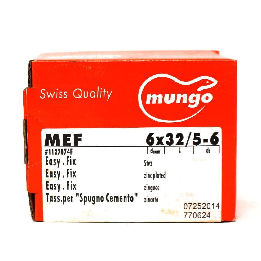 8 x 38mm Mungo Easy Fix Metal Expansion Plugs 5