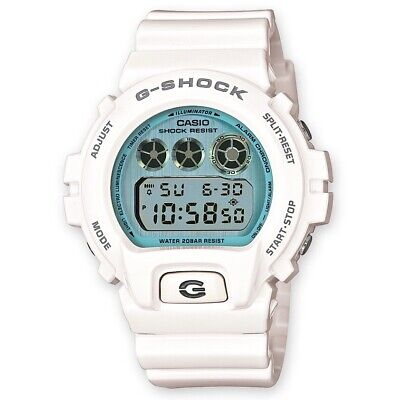Casio G-Shock Crazy Colors Gloss White Blue Watch Rare Limited Edition DW-6900PL for sale  Shipping to Ireland
