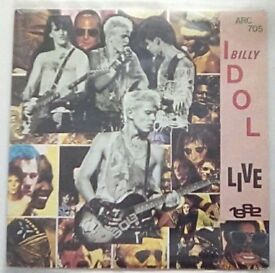 Billy Idol Red Vinyl Single