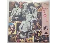 Billy Idol Red Vinyl Single