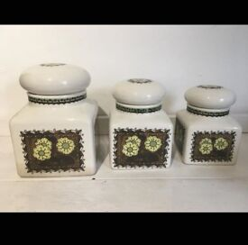 Set of 3 Taunton Vale Graduated Storage Containers