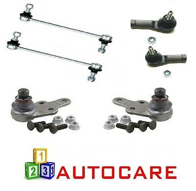ASC Front Ball Joints x2 Links x2 Outer Track Rod Ends x2 For Ford Mondeo MK3