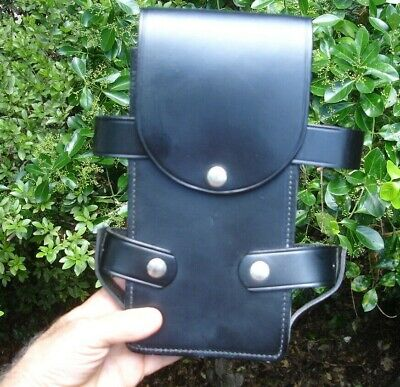 Leather Jay-pee Belt Holster Case Police Military Medic Tablet Computer Phone