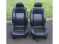 Mondeo seats ideal for camper conversion or to fit in a mondeo! vw transporter, transit, leather