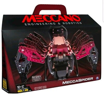 Meccano Erector And Ndash  Meccaspider Robotic Programmable Toy With Built In