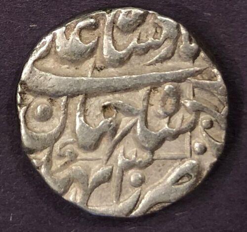India - Mughal, Shah Jahan, Rupee, KM# 235.7, Bhakkar, Year 30, XF, 11.41g