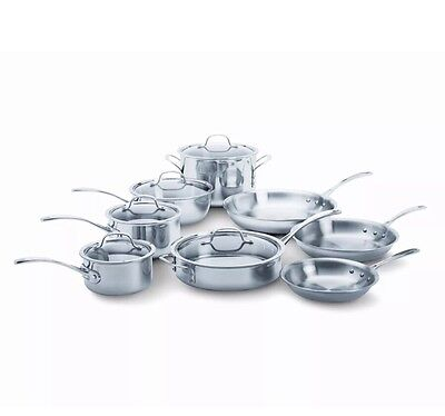 Calphalon Tri-Ply Stainless Steel 13-Percentage Cookware Set