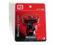 Cyclists Rear Bike Light Brand New With Batteries. RS Brand. Good Light for only £1.50