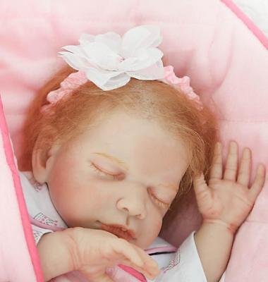High End Girl Clothes (22'' Handmade High-end Baby Girl Silicone Vinyl Reborn Newborn Dolls +)