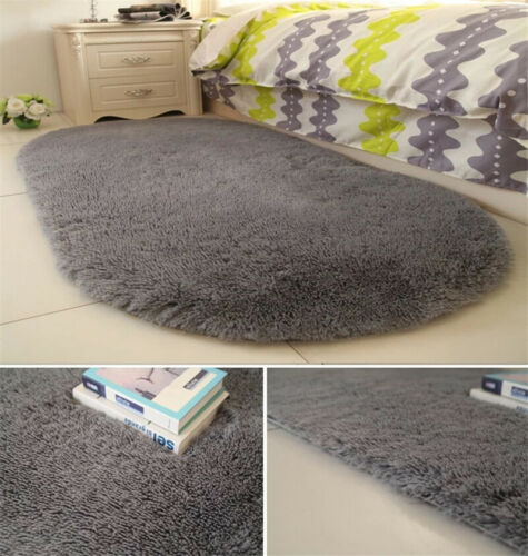 Shaggy Large Fluffy Rugs Area Rug Dining Room Home Bedroom F