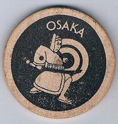 Playboy Club Vintage Wooden Nickel Osaka Japan