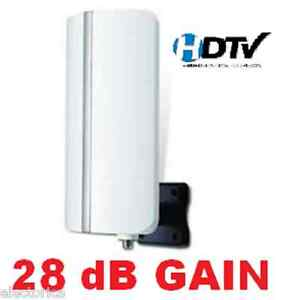 DIGITAL-HDTV-UHF-VHF-DTV-INDOOR-OUTDOOR-ANTENNA-COAX-CALBE-HD-TV-AMP-RV-BOAT