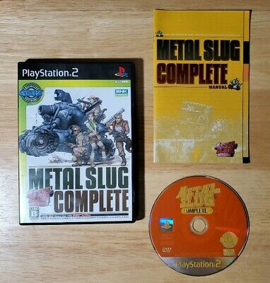 Metal Slug Complete Sony PS2 SNK Best Collection Japan Import (Best Sony Ps2 Games)