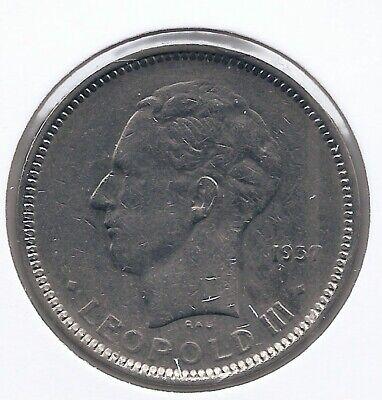 5 frank 1936 frans pos.B * Z.Fraai * LEOPOLD III * nr 5023