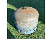 camping gas bottle empty ideal spare