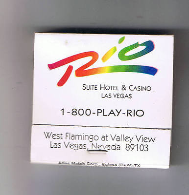 Rio Suite Hotel Casino The Suite Life Vintage Matchbook Las Vegas Nevada