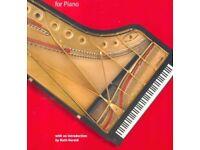 Classic, Jazz, ABRSM piano teacher (+violin)