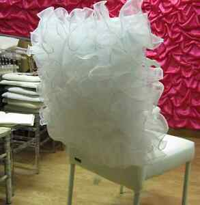 ebay used wedding decorations 2 wedding chair covers chiavari chair cover chair 3807