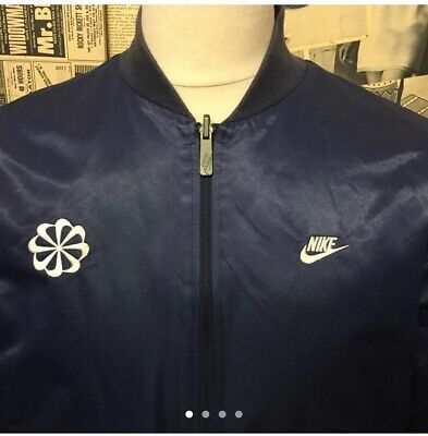 Nike Bomber Jacket Reversible Quilted Lightly Padded