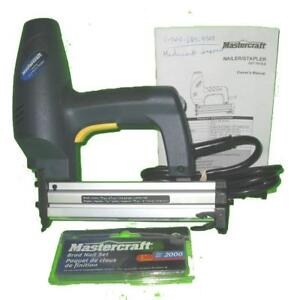 Cloueuse/Brocheuse Mastercraft Nailer/Stapler