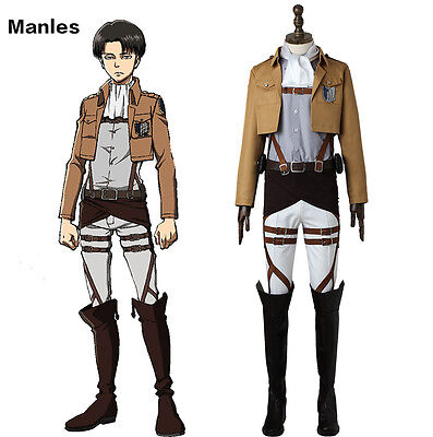Attack on Titan Shingeki no Kyojin Scout Legion Cosplay Costume Anime Outfit  - Attack On Titan Outfit