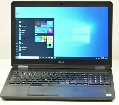 Dell Latitude E5570 Laptop - 2.4 GHz i5-6300U 8GB 256GB SSD Webcam 15.6