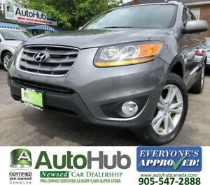 2010 Hyundai Santa Fe LIMITED-LEATHER-SUNROOF-AWD