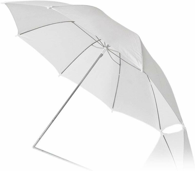 "2PACK Photography Light Diffuser 46"" White Umbrella Reflector for Photo Studio"