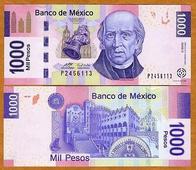Mexico, 1000 Pesos, 2007, Pick 127-New, UNC