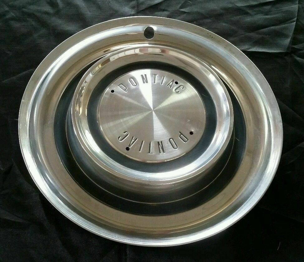 "1958 58 Pontiac 14"" 14 Inch Hubcap Wheelcover Bonneville Catalina"