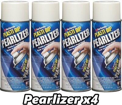 Performix Plasti Dip Pearlizer 4 Pack Rubber Coating Spray 11oz Aerosol Cans