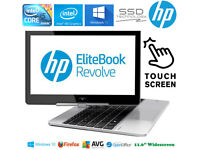 Can Deliver HP Laptop TouchScreen Tablet 2in1 Flip i5 2.9GHz SSD Windows10 GAMING OR STUDY OR WORK