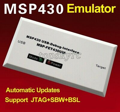 Msp430 Programmer Debugger Emulator Usb-debug Msp-fet430uif Support Jtagsbwbsl