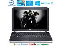 Possible 2 Deliver - Huge Dell i7 Laptop Intel Core 3.4GHz Intel HD 3000 Win10 500Gb DVD-RW HDMI