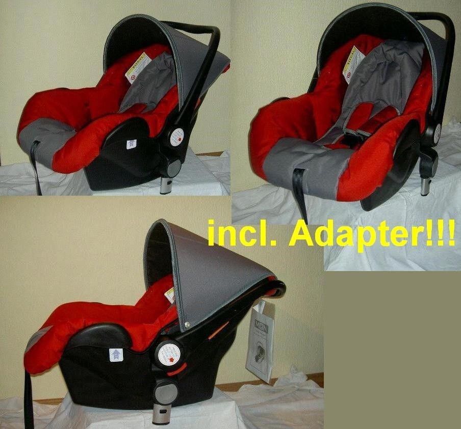 Autokindersitz Baby Autositz MOON Autoschale Trageschale  0-13 kg Travelsystem