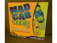 New Mad Gab Mania Dvd Game