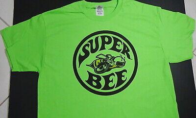 Brand NEW SUPER BEE superbee T-SHIRT mopar hemi truck street custom* nhra racing Truck Window Louvers