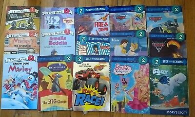 15 Level 2 -Step Into Reading-I Can Read - Picture Books