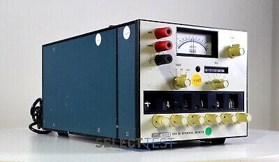 Fluke 895a Dc Differential Voltmeter 0 - 1100 Volts Ref008