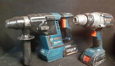 Sale 18v Bosch Gbh18v-26 Sds Rotary Hammer Drill Hgh181x 4 Ah1.5ah Batteries